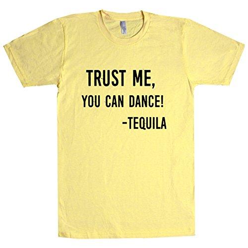 Trust Me, You Can Dance! - Tequila T Shirt Banana X-Small - Banana Me You