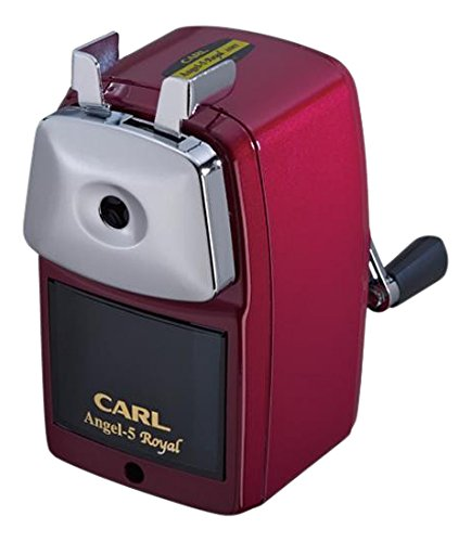 Carl Angel 5 Royal, Pencil Sharpener, Red by CARL BRANDS