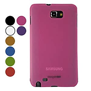 Elegant Fashion Hard Protective Case for Samsung Galaxy Sii I9100 --- COLOR:Red