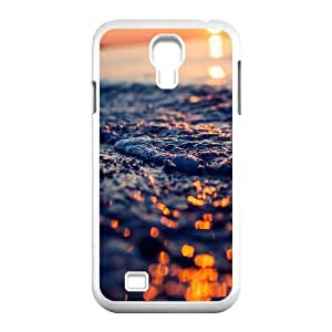 Seashore Foam Closeup Samsung Galaxy S4 9500 Cell Phone Case White phone component RT_233413