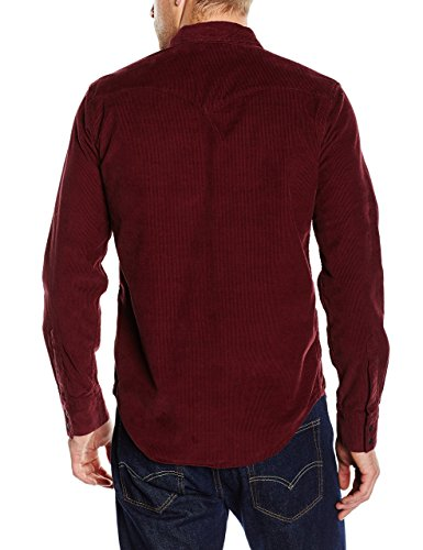 Barstow Homme Chemise Rouge Red Western Levi's merlot Casual AaTxgawq