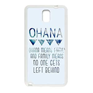 ohana means family Phone Case for Samsung Galaxy Note3 Case