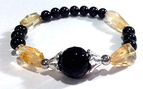Handmade Tourmaline Natural Citrine Bracelet