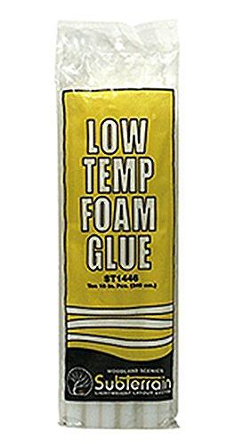 MONOMONO-WOODLAND SCENICS LOW TEMP FOAM GLUE STICKS (10) for low temperature - In Ca Malls Orange
