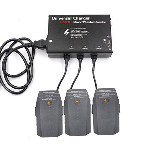 Boyiya Universal Charger 3 Channel Output 5V For DJI Spark Mavic Phantom Inspire Drone