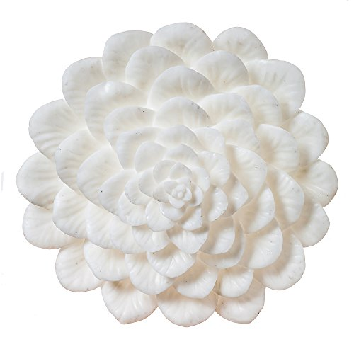 Cheap Cape Craftsmen 8L047 Evergreen White Embossed Flower Wall Lamp