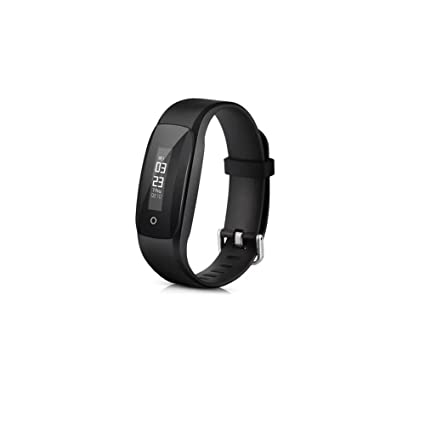 Negro reloj de pulsera de fitness Tracker veryfitpro Smart Slim Touch Protector de pulseras pulsera de