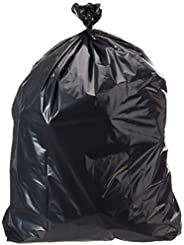 AmazonCommercial 42 Gallon Heavy Duty Contractor Bags - 3 MIL - 50 Count