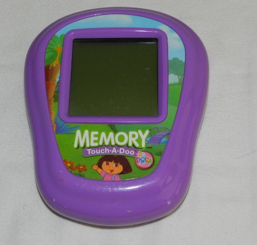 Dora the Explorer Memory Touch-a-Doo Handheld Electronic Learning Game ()