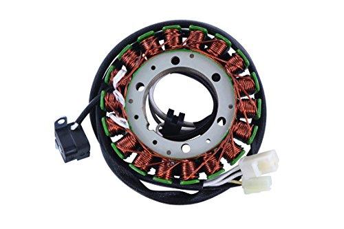 - Generator Stator For Yamaha V Star 650 Custom/Sliverado/Classic/Midnight Custom 2004-2016 XVS650 OEM Repl.# 5SC-81410-00-00 5SC-81410-01-00 5SC-81410-02-00 5SC-81410-03-00 VStar