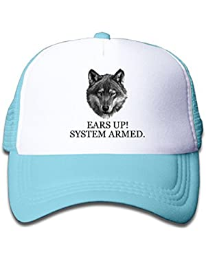 Ears Up! System Armed Baby Boy Girl Classic Adjustable Baseball Mesh Cap