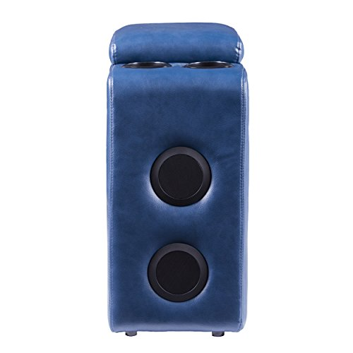 Furniture HotSpot - Portable Bluetooth Speaker Console w/USB Ports - 11.5