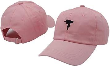Lvntsx Las Gorras de béisbol Vintage Uzi Gun Snapback Hat Cap ...
