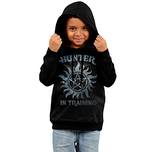 KIHOYG Kid's Supernatural Hunter In Training Hooded Sweatshirt