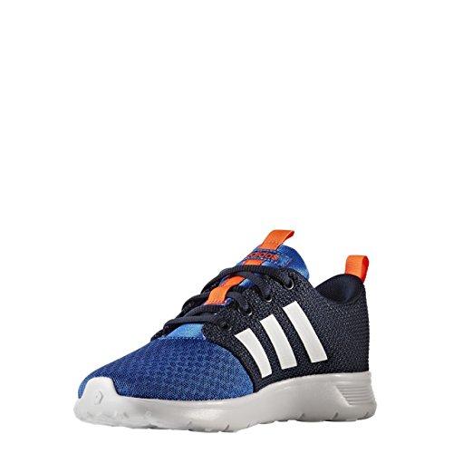 adidas Swifty K, Chaussures de Tennis Mixte Enfant, Bleu (Azul/Ftwbla/Maruni), 30 EU