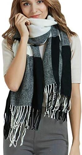 Women plaid scarf