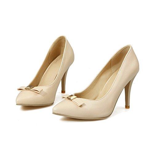 de Zapatos con BalaMasa para mujer bajo Albaricoque corte tacón F5q7wwT