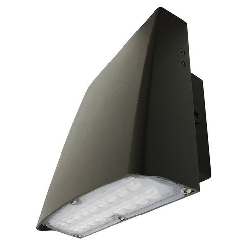 LED Slim Line Wall Pack Gen 3-30W 3298 lm Bronze Housing