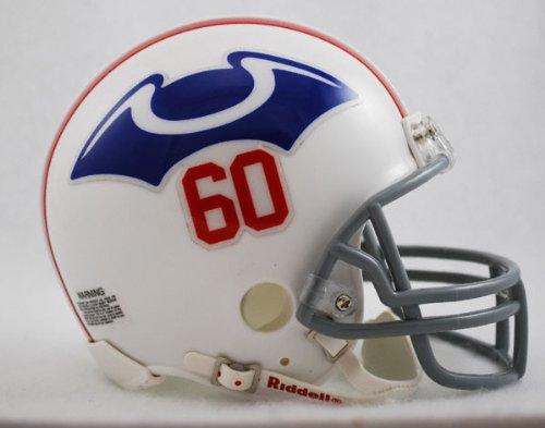 Team Colors Riddell NFL New England Patriots Helmet Mini VSR4 One Size