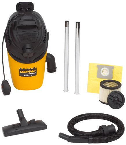 Shop-Vac Industrial BackPack Vacuum 2860010 6.5-Peak HP