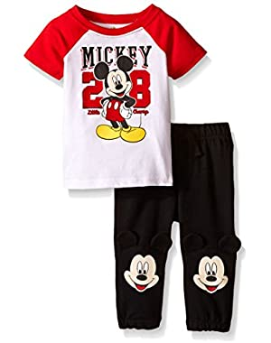 Baby Boys' Mickey Mouse Jog Set (Pack of 2)