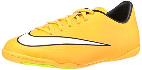 Nike Jr. Mercurial Victory V Ic Inomhus Konkurrens Fotboll Sko Laser Orange / Svart / Volt / Vit