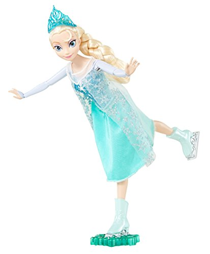 Disney-Frozen-Ice-Skating-Elsa-Doll