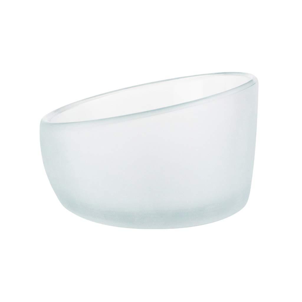 Pet Bowl, Cat Bowl, Bowl Tilt Small Pet Feeder, Glass Material, Transparent