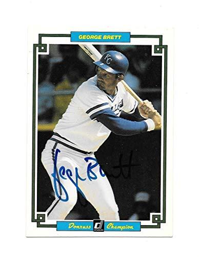 1984 Donruss Champions #15 George Brett Autograph/Autographed Signed Card - PSA/DNA Certified Memorabilia