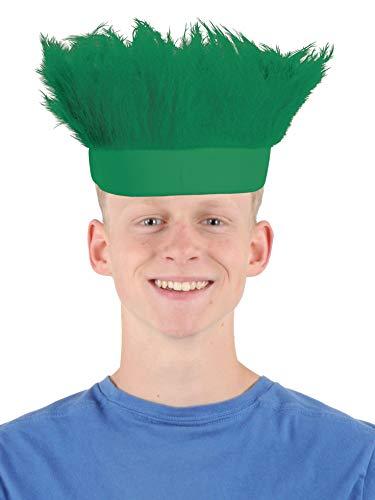 Beistle Hairy Headband, One Size, Green