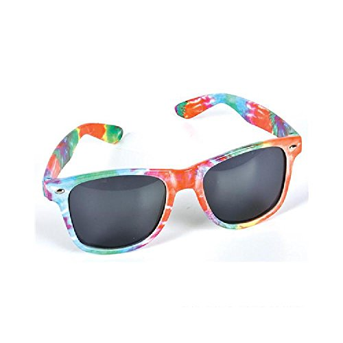 Tie-Dye Color Frame - Sunglasses Scheme