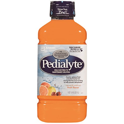 Abbott Nutrition - Pedialyte RTF, Retail 1 Liter Bottle, Fruit Flavored