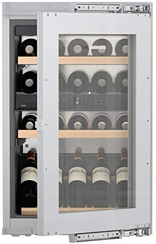 Liebherr HW3000 24 Inch Built-In Dual Zone Wine Cooler with 30 Bottle Capacity, in Panel Ready by Liebherr Products (Image #4)