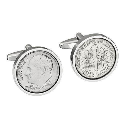 60th Birthday- 1959 Genuine Coin Cufflinks