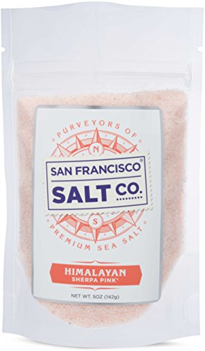 Sherpa Pink Gourmet Himalayan Salt, 5oz Pouch Extra-Fine Grain. Incredible Taste. Rich in Nutrients and Minerals To Improve Your Health. Add To Your Cart Today.