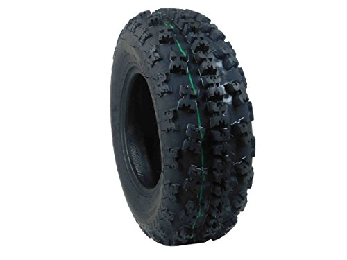 Quad Tires Two Front 21X7-10 4 Ply Tires For Yamaha Raptor Banshee Honda 400ex 450r 660 700 400 450 350 250 (Set of 2 Front 21x7-10) ()