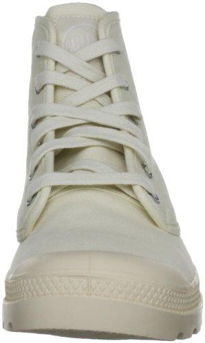 Palladium PAMPA HI~ECRU~M - Botas de lona para hombre blanco - Weiß (ECRU 118)