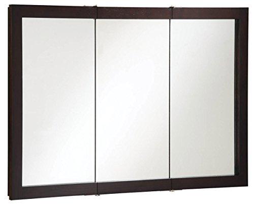 Design House 541367 Ventura Tri-View Medicine Cabinet, Espresso, 48-Inch by 30-Inch by Design House
