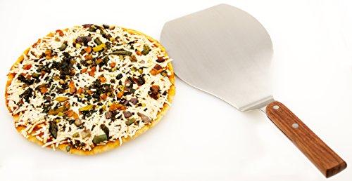 Oversized Jumbo Spatula Extra Large Pizza Peel Cake Lifter Cookie Oven Turner by Bright Kitchen XL (Jumbo Bbq Spatula)