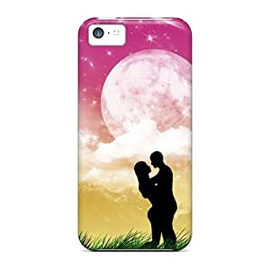 Brand New 5c Defender Case For Iphone (love Nature)