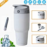 Myfreed Personal Air Conditioner Fan Personal Cooling Heating System Cooling Fan Portable Battery Operated Handheld Air Conditioner Space Cooler (1 Pack)