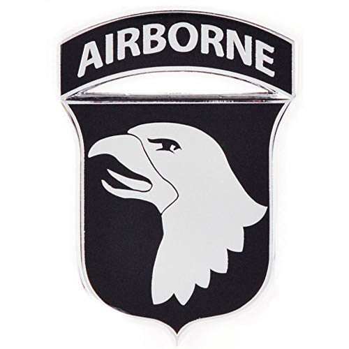 (Medals of America 101st Airborne Officially Licensed Car Emblem Multicolored)