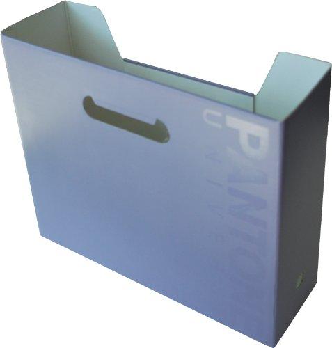 Pantone Horizontal File Box, A4 Wide, Daybreak, Pack of 2 - Pantone Products
