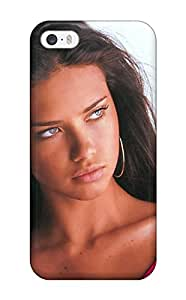 Hot Adriana Lima First Grade Tpu Phone Case For Iphone 5/5s Case Cover