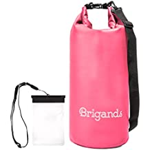 Brigands Waterproof Dry Bag with Waterproof Phone Case – Choose Your Size and Color
