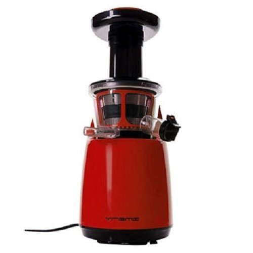 VREMI Slow Juicer (RED) – Live Clean & Green with...