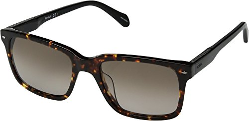 Fossil Men's Fos 2076/s Square Sunglasses, DKHAVANA, 54 mm -  Fossil Eyewear, 2076-S