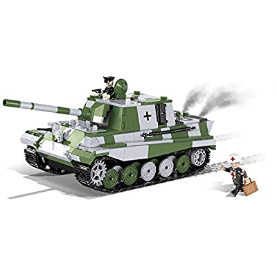 COBI Small Army SD. KFZ. 186 Jagdpanzer VI (Jagdtiger) Tank: Toys & Games