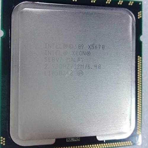 CPU Central Processor Intel Xeon Westmere-EP Processor Fragments Quad Core QPI 6.4 GT//s LGA1366 Desktop CPU Core X5650 X5660 X5670 X5680