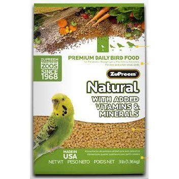 ZUPREEM 230351 Natural Small Bird Food, 2.25-Pound, My Pet Supplies